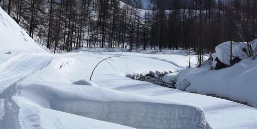 Val Troncea chiusa per pericolo valanghe