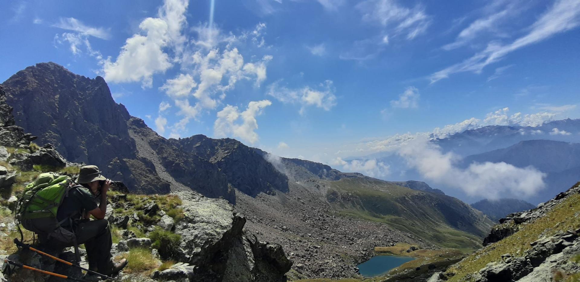 Monte Cristalliera, Lago Manica foto Claudia Metti