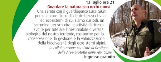 Luca Giunti a Chieri: Guardare la natura con occhi nuovi