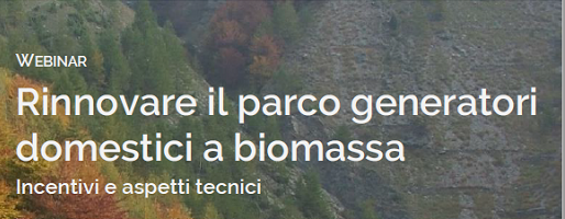 Nuovo bando Regione Piemonte - Progetto pilota Legno Energia Nord Ovest