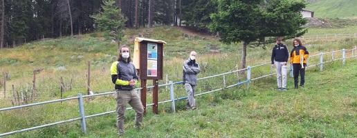 Inaugurato a Pian dell'Alpe il rimboschimento alla Casa Alpina Don Bosco di Pian dell'Alpe