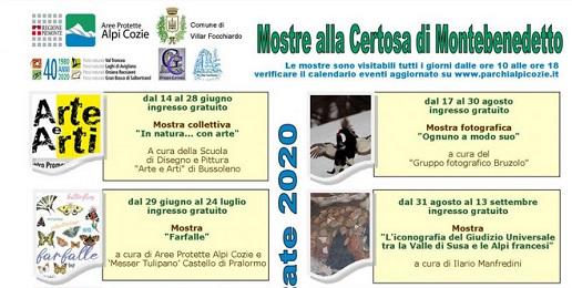 Certosa di Montebenedetto: apertura e mostre
