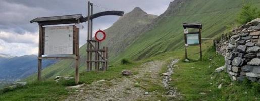 Resta chiusa la strada militare del Colle della Vecchia
