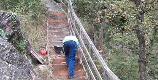 Interventi di manutenzione nella Riserva di Chianocco