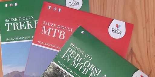 Nuove guide trekking e MTB pubblicate da Turismo Torino e Provincia