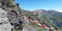 A Massello chiuso il Sentiero degli Alpini