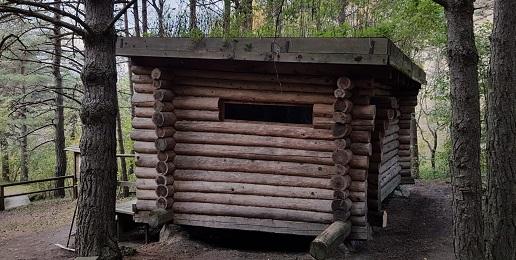 Interventi manutentivi alla smoke sauna dell'Ecomuseo