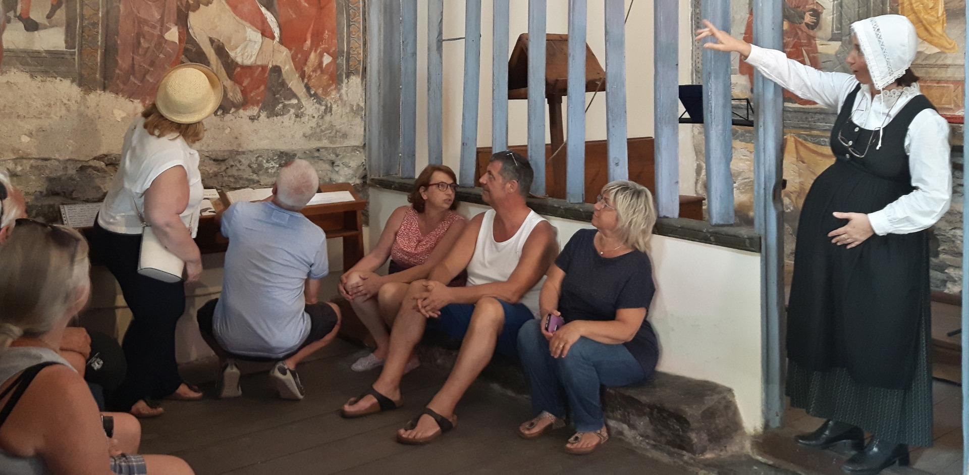 Visita teatralizzata alla Cappella dell'Annunciazione dell'Oulme