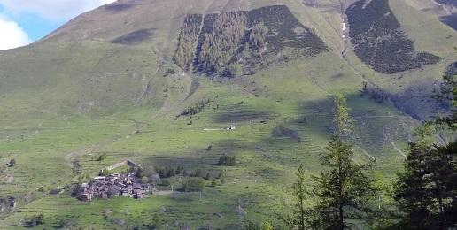 Fenestrelle: divieto di accesso all'area Monte Pelvo rimboschimento Pequerel