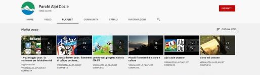 Una nuova playlist dedicata alla settimana della biodiversità sul canale YouTube dei Parchi Alpi Cozie
