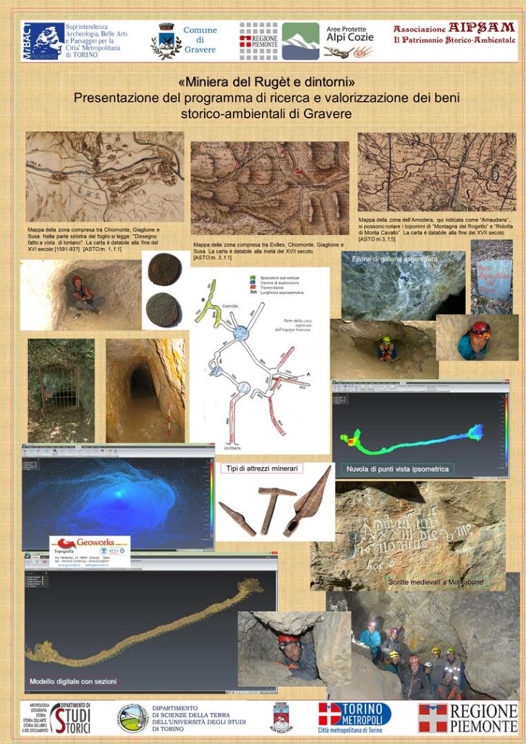 La miniera del Rugèt di Gravere