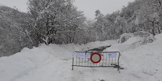 Pericolo valanghe elevato anche nel Parco Orsiera Rocciavrè