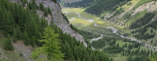 Un nuovo percorso pedonale in Valle Argentera