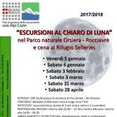 Sabato 31 marzo 2018 - Escursione al chiaro di luna