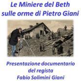 """Lunedì13 agosto - Pragelato """"Le miniere del Beth – sulle orme di Pietro Giani"""""""