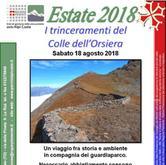 """Sabato 18 agosto - Fenestrelle Escursione sui """"Trinceramenti del colle dell'Orsiera"""""""
