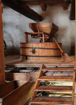 Ecomuseo Colombano Romean, ilmulino idraulico del Martinet